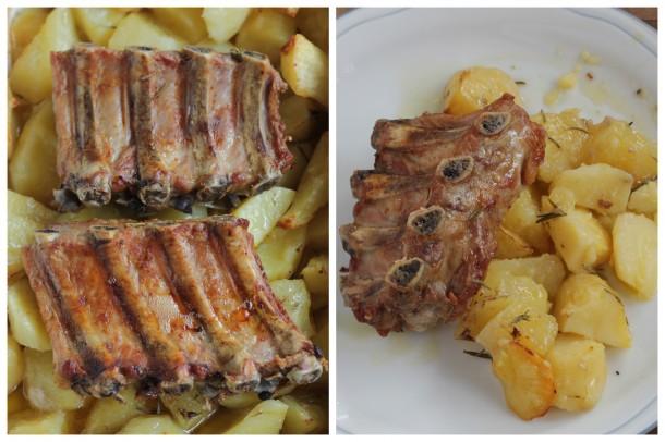 receta exprés de costillas de cerdo al horno