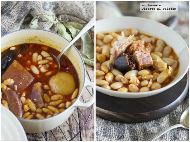 las nueve mejores recetas de alubias, la fabada asturiana