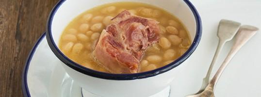 las mejores recetas de alubias cena del cura con lacon