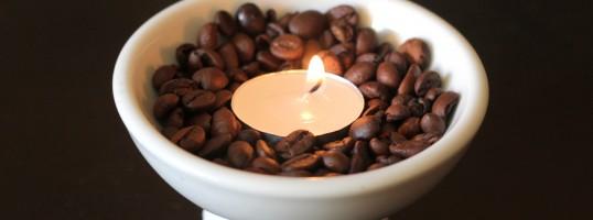ambientador de café DIY