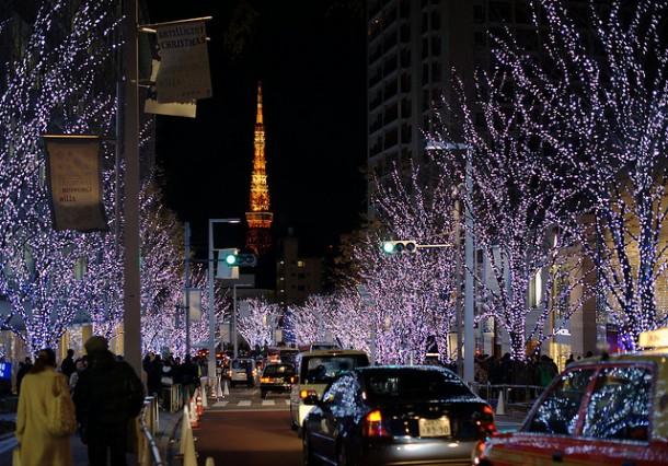 navidad en el mundo japon