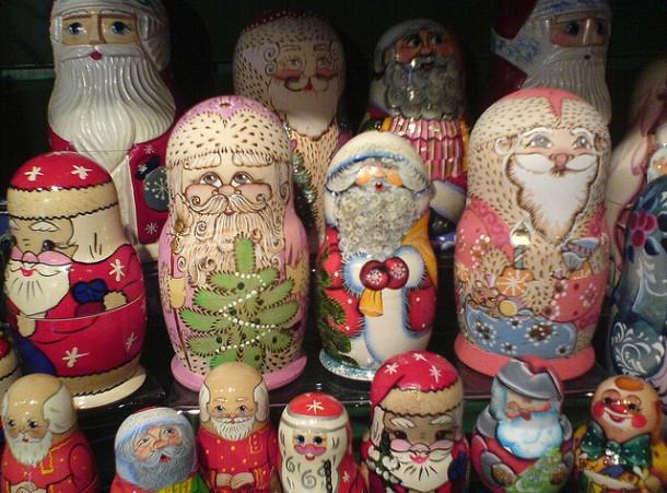 navidad en el mundo rusia