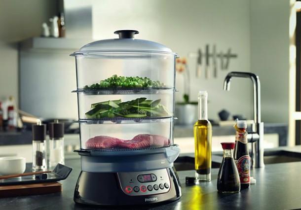 recetas ligeras para cocinar al vapor