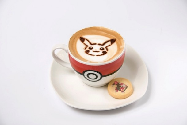 cafetería dedicada a pokemon