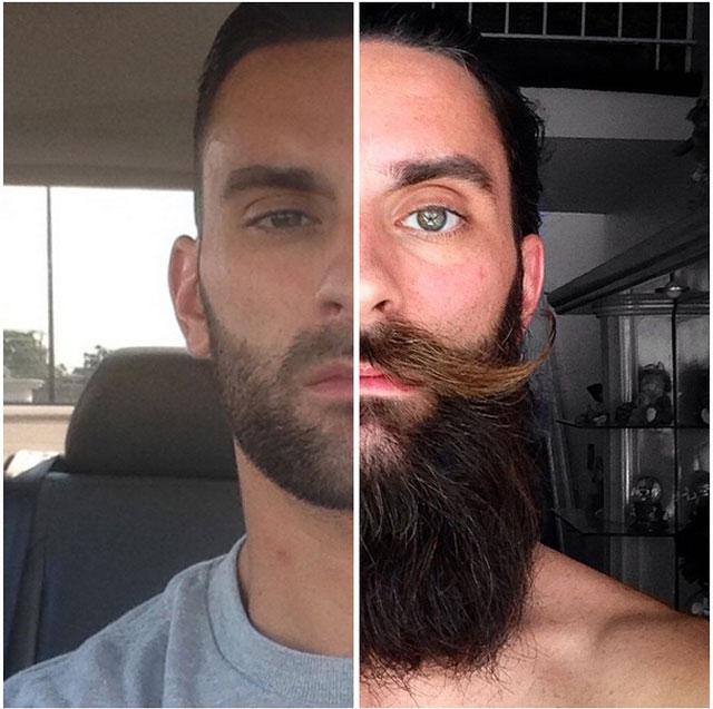 Con o sin barba