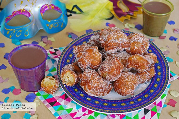 buñuelos dulces de carnaval