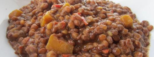 mejores recetas de pucheros del invierno lentejas calabaza
