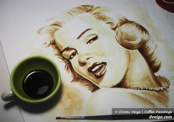 café y arte marilyn