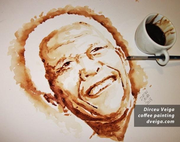 café y arte nelson mandela