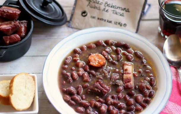 las mejores recetas de pucheros alubias de Tolosa