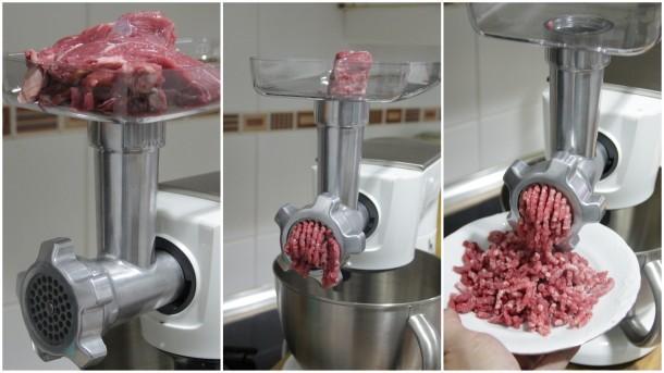 carne picada recién hecha