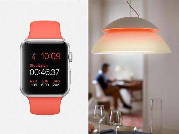 Philips Hue Apple Watch visual