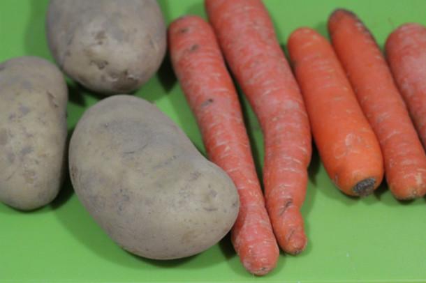 ración de hortalizas