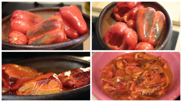 trucos de cocina pimiento