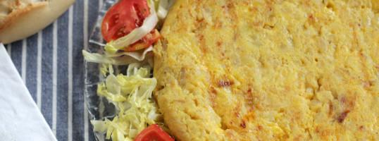 tortilla de patatas y variaciones