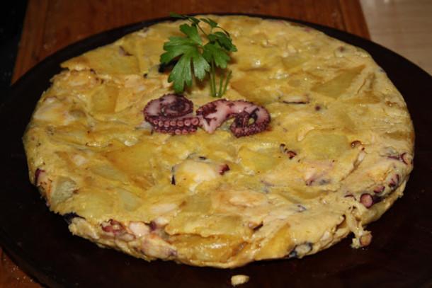 tortilla pulpo a feira