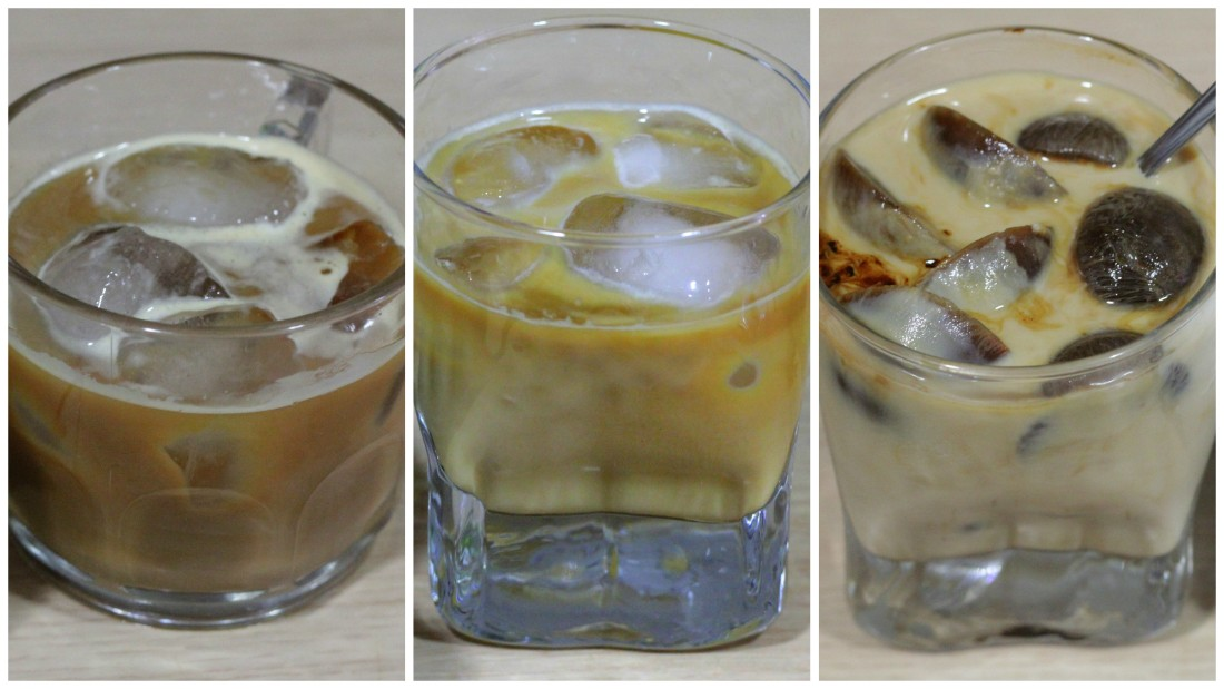Nuevos cafés fríos del verano