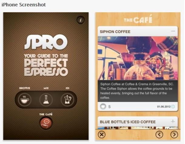 spro app perfect espresso
