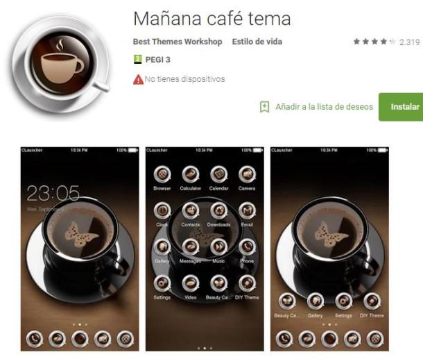 apps amantes del cafe