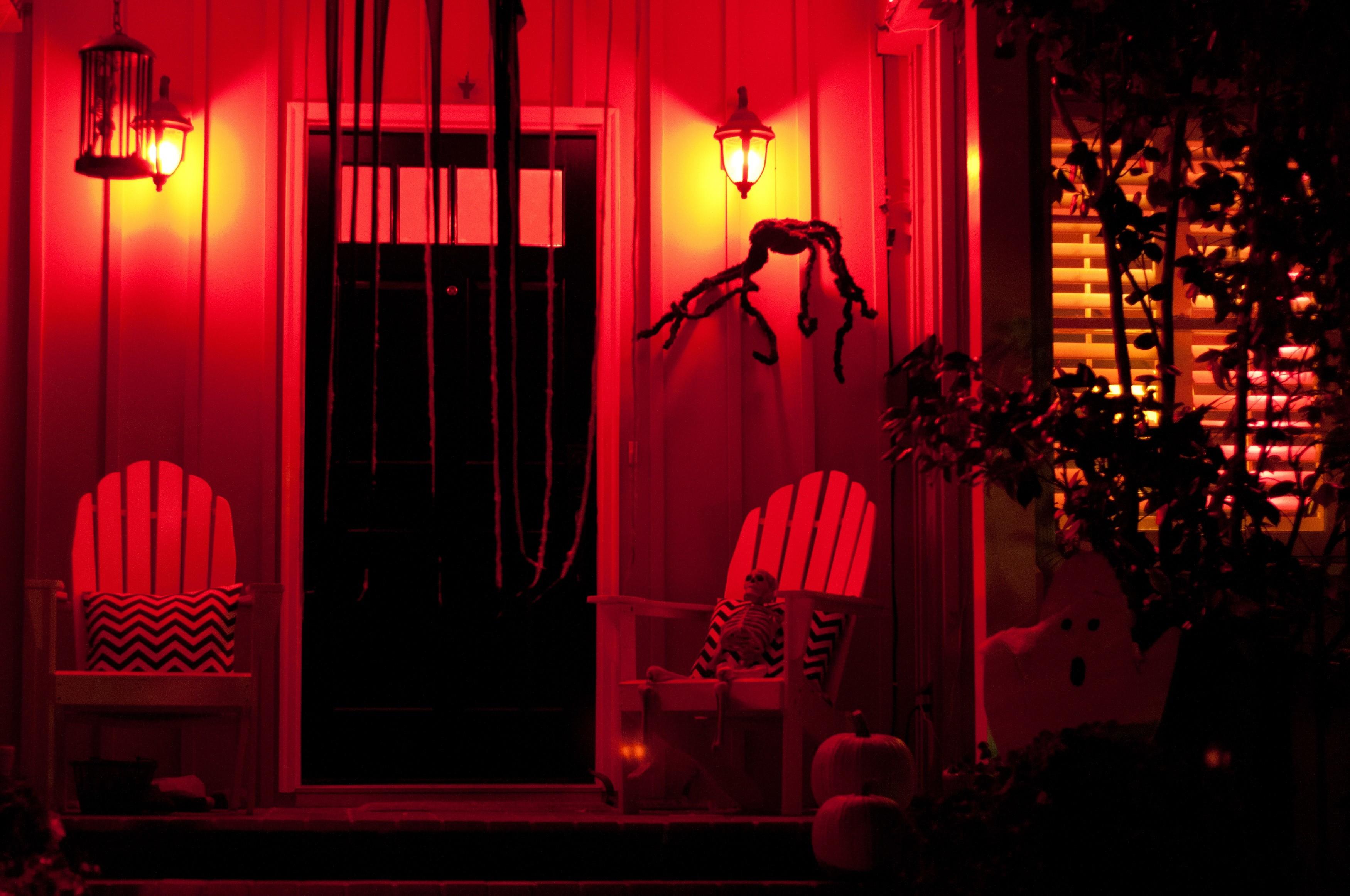 7 ideas de iluminaci n para la noche de halloween mi for Ideas de iluminacion