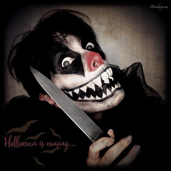 C mo desmaquillarte para que el maquillaje de halloween no for Pinturas de cara para halloween