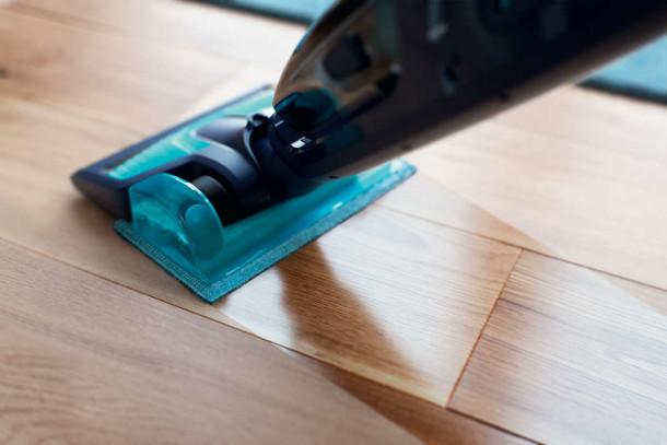 fregar parquet Power Aqua Pro
