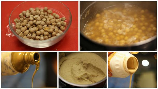 receta de hummus paso a paso