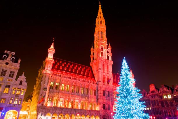 las mejores ciudades iluminadas en Navidad