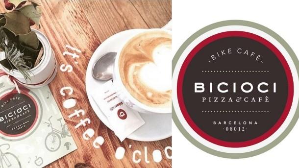 BiciOci cafetería Barcelona café bike friendly