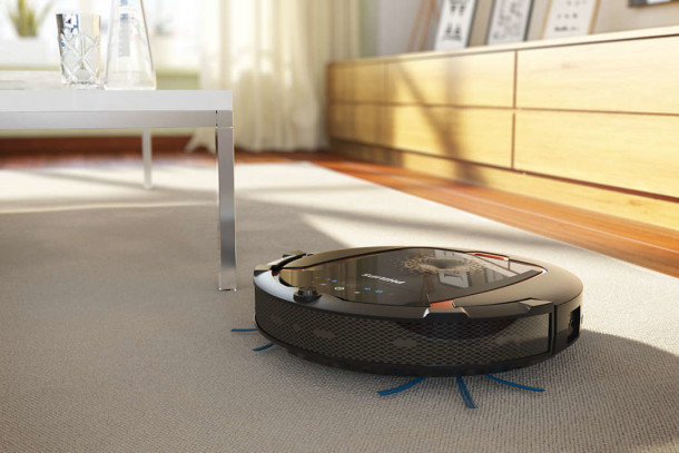 electrodomésticos. Robot aspirador