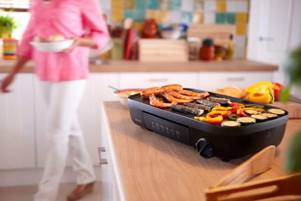 cocina a la plancha o parrilla