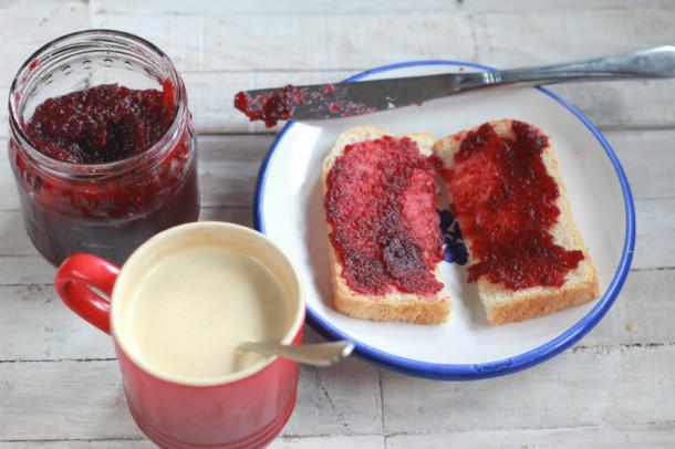 mermelada de frutos rojos paso a paso