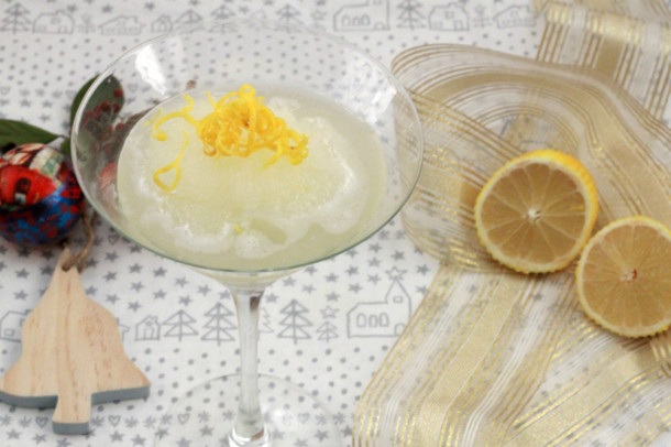sorbete de limón batidora philips