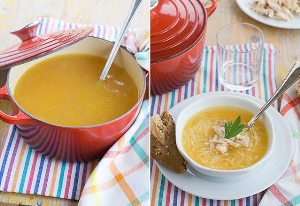 Cómo arreglar una sopa demasiado salada