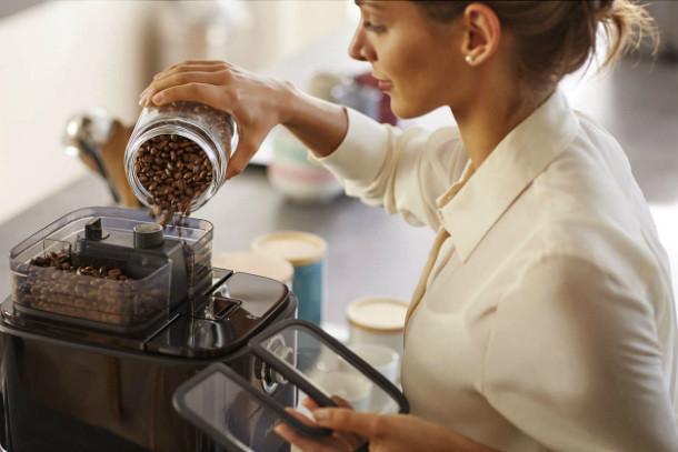 Cuidados de la cafetera