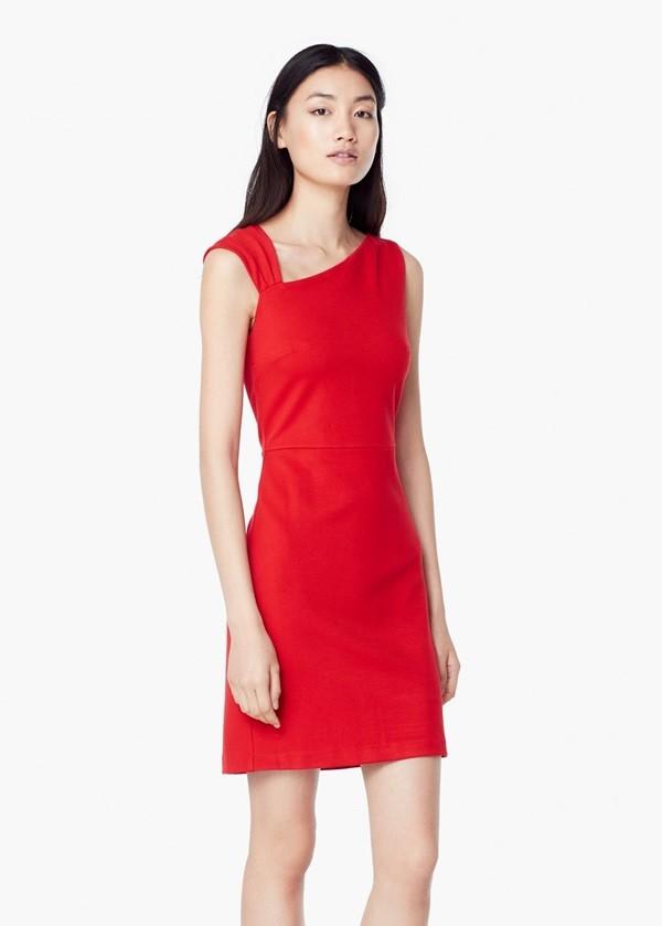 Vestidos cortos bonitos rojos