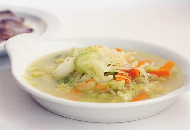 Reutilizar el caldo de las verduras