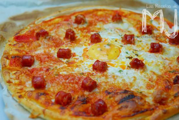 pizza de hojaldre