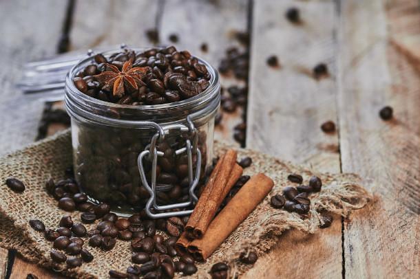 Café aromatizado con especias