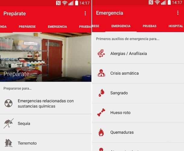 apps de primeros auxilios