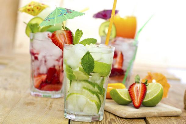 Recetas de bebidas naturales frias