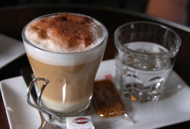 Espuma del café