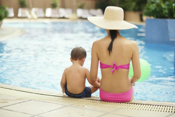 Consejos de seguridad en la piscina