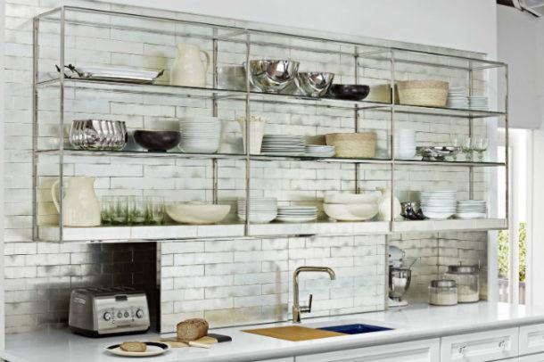Tu cocina a la moda la tendencia de las estanter as abiertas mi mundo philips - Estanterias de cocina ikea ...