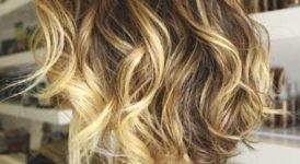Ondas en pelo medio corto