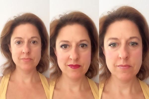 selfies maquillaje