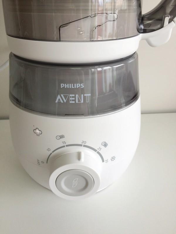 Probamos el robot de cocina philips avent los pur s para for Robot cocina bebe opiniones