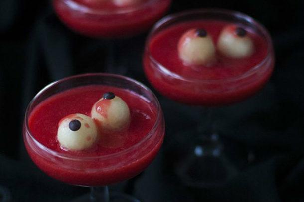 halloween. bebida