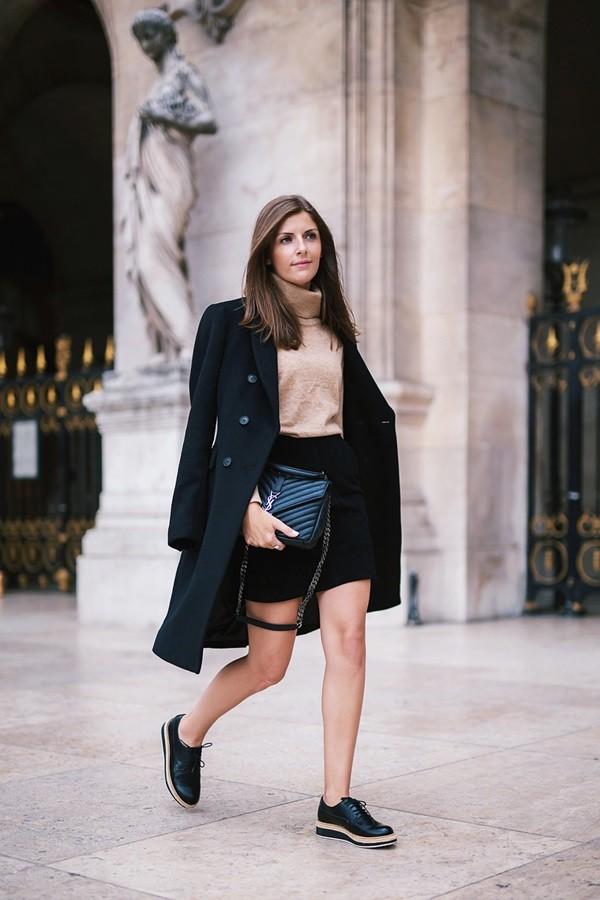 51eaa13bf 11 abrigos para las bloggers de moda: outfits con la prenda estrella ...