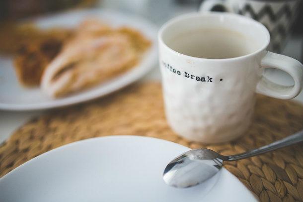 Limpiar manchas de café